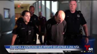Arrestan a acusado de raptar a niña de 7 años