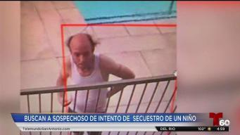 Buscan a sospechso de intentar secuestrar a una niña
