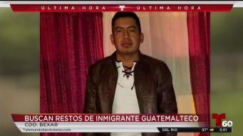 Buscan restos de inmigrantes indocumentados