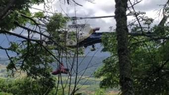 Conduce hacia precipicio y cae a 450 pies de altura en Napa