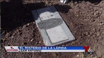 El misterio de la lápida