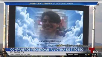 Emotivia vigilia en memoria de Javier Rodríguez, víctima de matanza