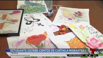 Escribe cartas a inmigrantes en centros de detención