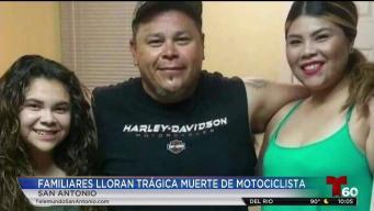 Trágica muerte de motociclista deja a familia destrozada