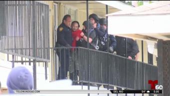 Arrestan a hombre tras atrincherarse por más de 12 horas