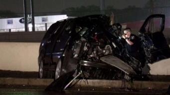 Identifican a chofer muerto en accidente en el Loop 410