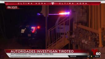 Investigan tiroteo mortal al noreste de San Antonio