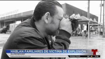 Muere segunda víctima tras explosión en Elmendorf