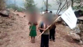 """Niños """"autodefensas"""" lanzan amenazas a narcos"""