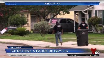 Padre de familia arrestado en operativo de ICE