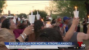 Familia de motociclista que murió atropellado pide justicia