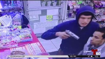 Revelan impresionante video de robo en una tienda