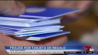 Fraude con tarjeta de regalo