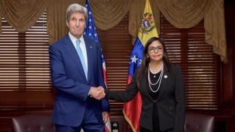 EEUU y Venezuela inician diálogo para resolver la crisis