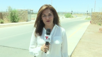 Telemundo 48 El Paso visita instalaciones del centro de Tornillo
