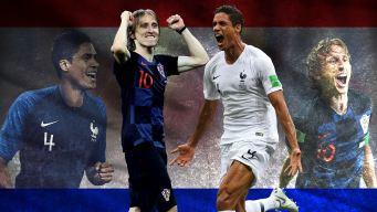 ¡Inédito! Varane y Modric pelean histórico doblete en la final del Mundial