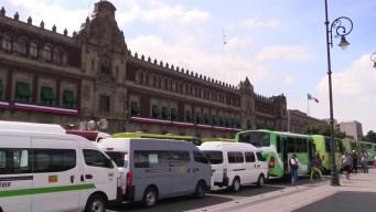 Exigen transportistas aumento a tarifas