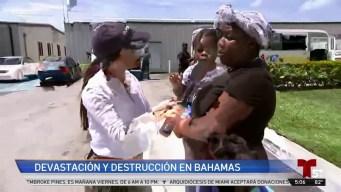 Bahamas intenta levantarse tras el devastador paso de Dorian