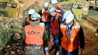 Muerte y desaparición de obreros en mina chilena opaca el rescate de un tercero