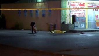 Dos muertos y un herido en tiroteo afuera de tienda