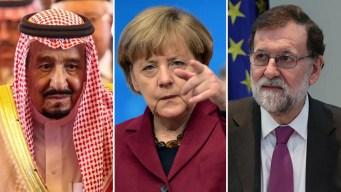 Líderes mundiales reaccionan al bombardeo en Siria