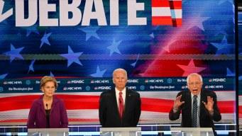 Momentos y temas claves del quinto debate demócrata