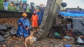 Temibles lluvias del monzón causan tragedia en India