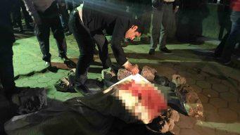 En video: mortal bombazo terrorista sacude zona turística