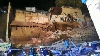 Horrendo: mueren bajo escombros al derrumbarse casa