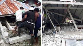 En video: sube cifra de muerte tras poderoso terremoto