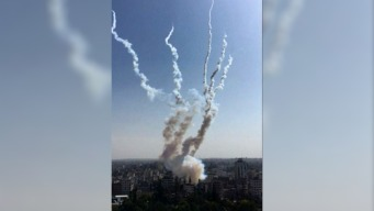 En video: rompen la tregua con una lluvia de misiles