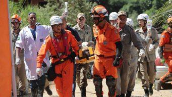 Sube cifra de muertos por desplome de edificios en Brasil