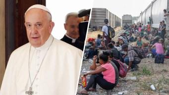 El Papa Francisco dona $500,000 para los migrantes