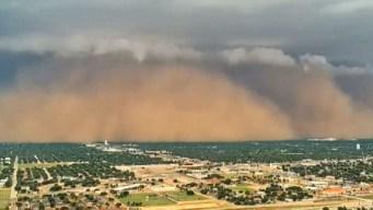 Violenta tormenta de arena en Texas queda grabada en video