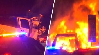 Policía: conductor que iba en sentido contrario pudo haber causado brutal choque