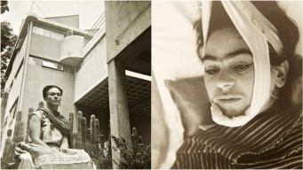 Fotos inéditas de Frida Kahlo se venden en $35,000