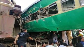 Brutal choque de trenes deja una veintena de muertos