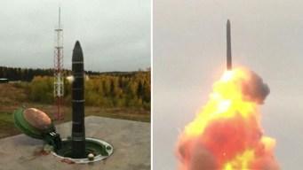 Video: Putin prueba misil con capacidad de llegar a EEUU