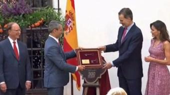 Reyes de España recorren las misiones de San Antonio