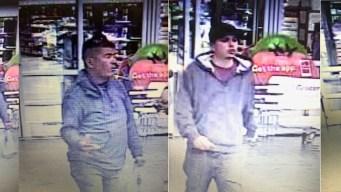 Presuntos ladrones amenazan a empleado de Walmart