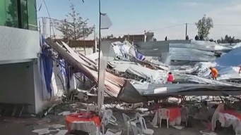 Perú: mueren seis tras caer el techo en fiesta religiosa