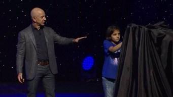 Bezos revela modelo de nave espacial que irá a la Luna