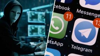 Peligro: falla en WhatsApp y Telegram compromete fotos y videos
