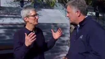 El jefe de Apple sale en defensa de los dreamers