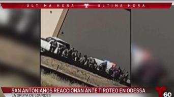 Sanantonianos tristes tras la tragedia en Odessa y Midland