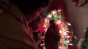 Virgen de Guadalupe visita a familias de SA
