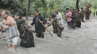 Más de 500 muertos por intensas lluvias en Asia