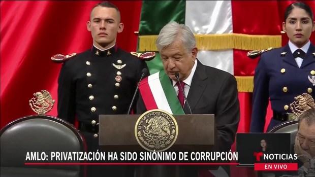 [TLMD - LV] AMLO promete acabar con la corrupción en México