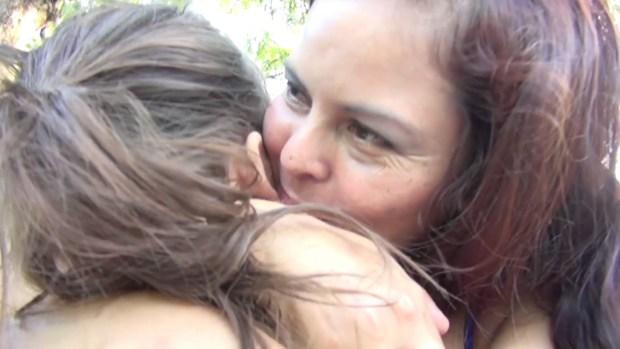 Madre salvadoreña luchó dos años para recuperar a su hija