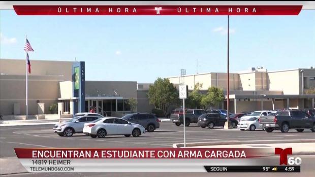 [TLMD - SA] Arrestan a estudiante con arma cargada en secundaria